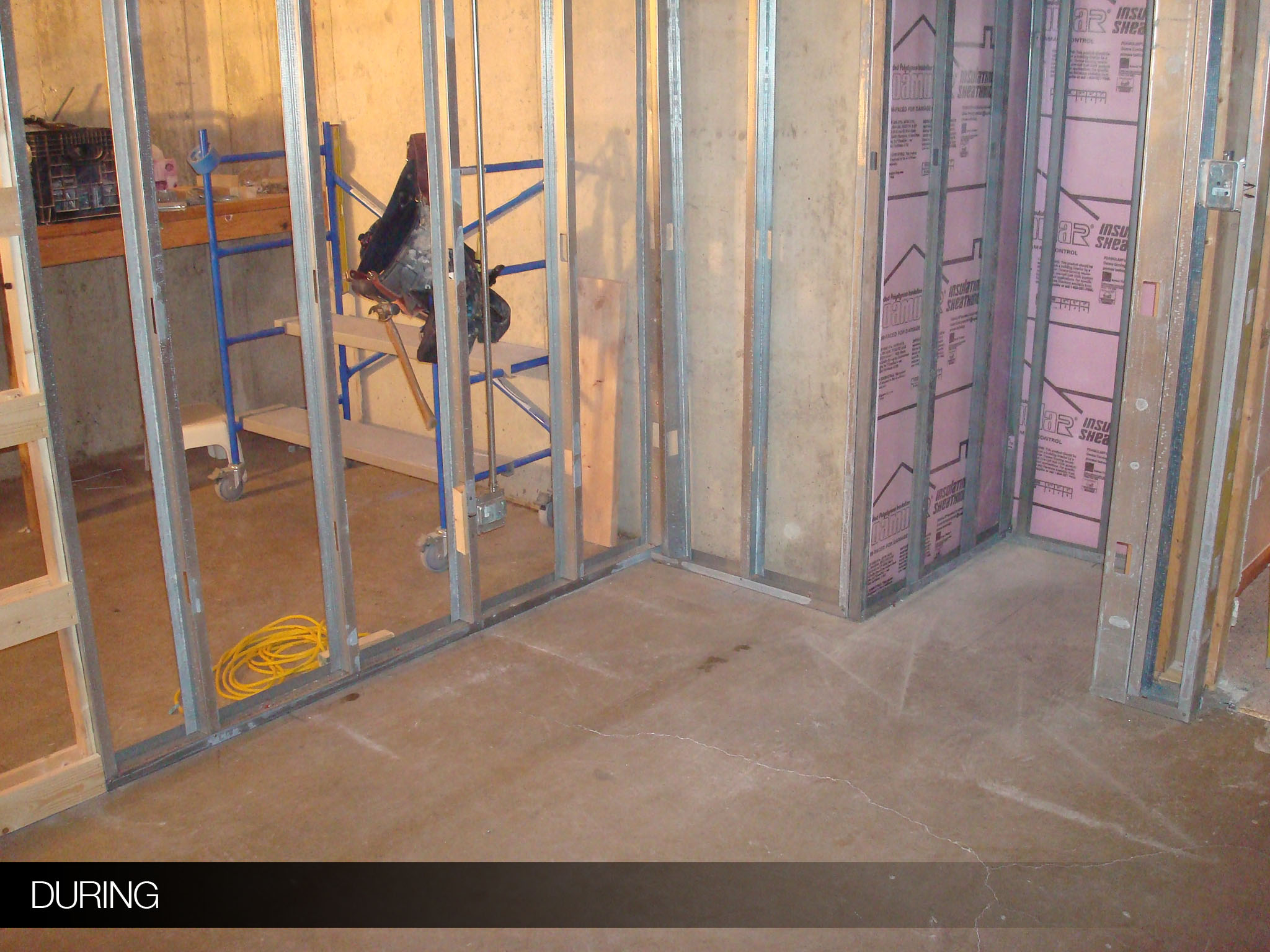 frankfort basement remodel | halo construction services llc