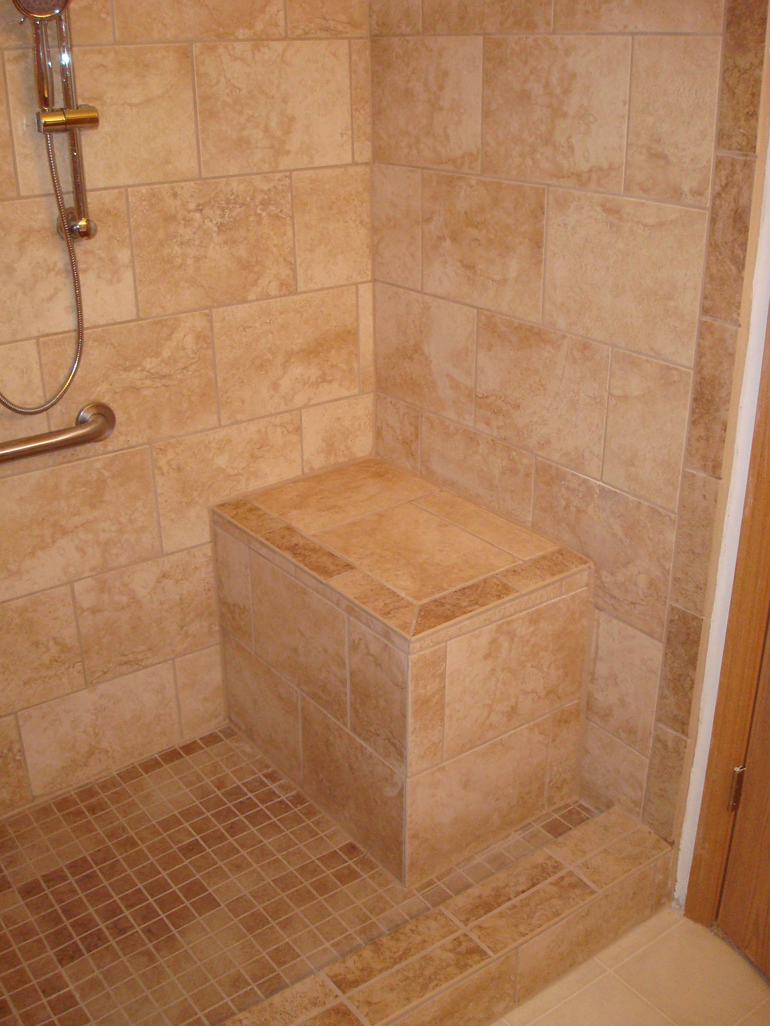 handicap bathroom remodel halo construction services llc