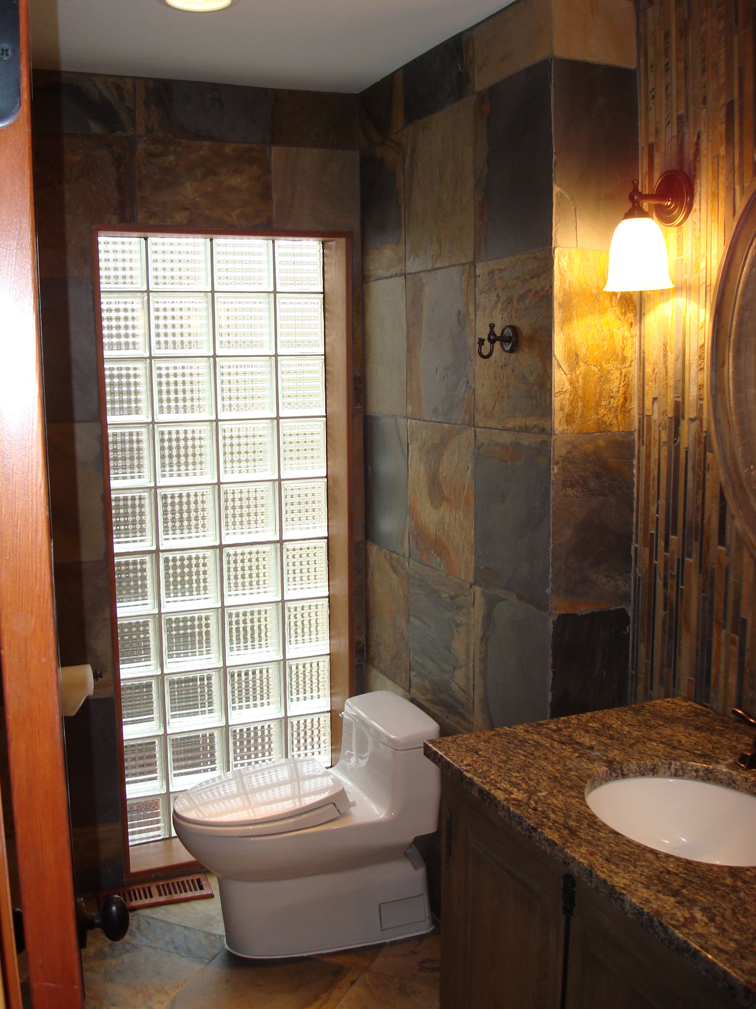 Chicago Bathroom Remodeling Modern Chicago Bathroom Remodel  Halo Construction Services Llc