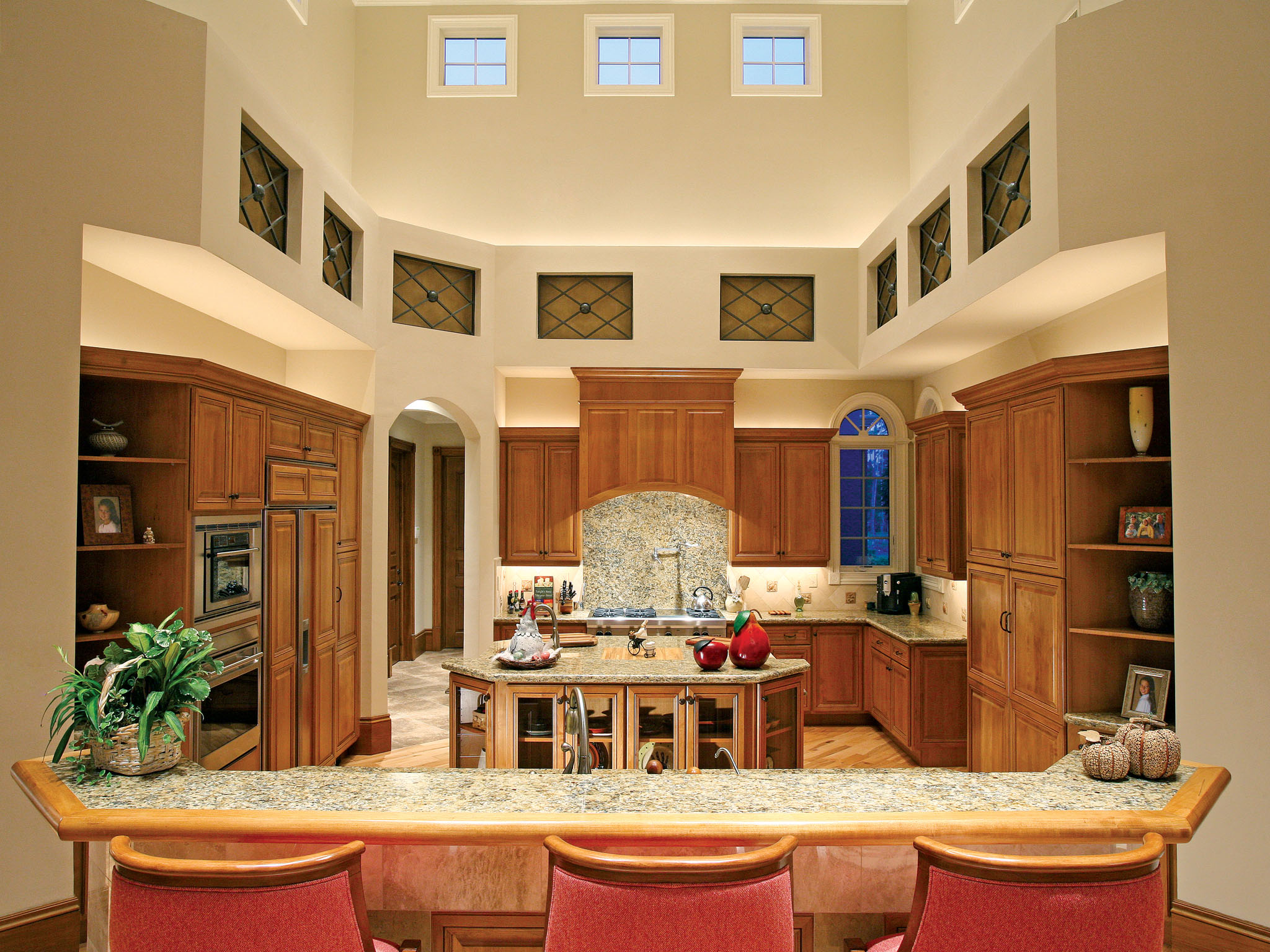 mediterranean frankfort kitchen remodel | halo construction