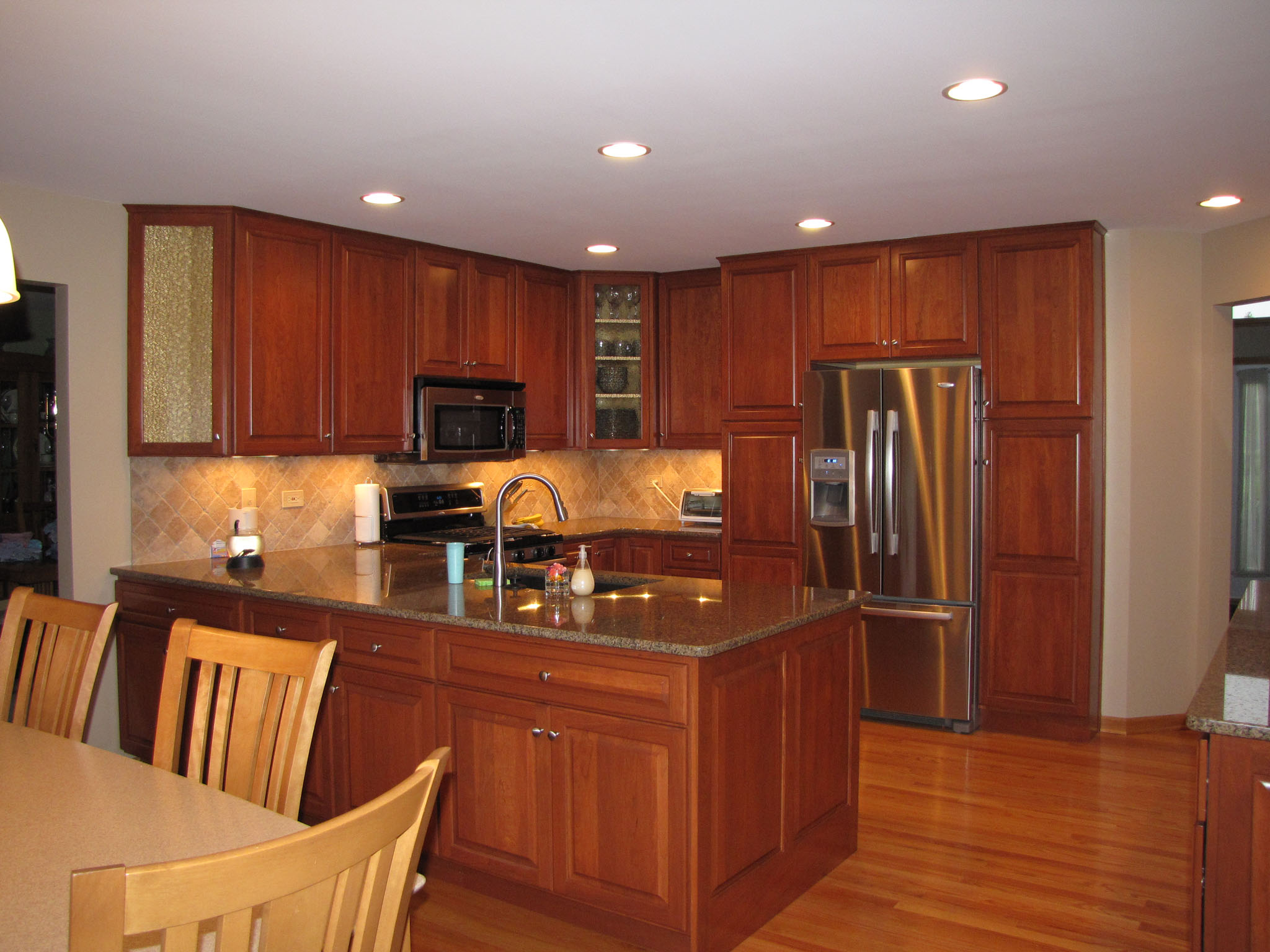 Traditional Mokena Kitchen Remodel Halo Construction Services Llc